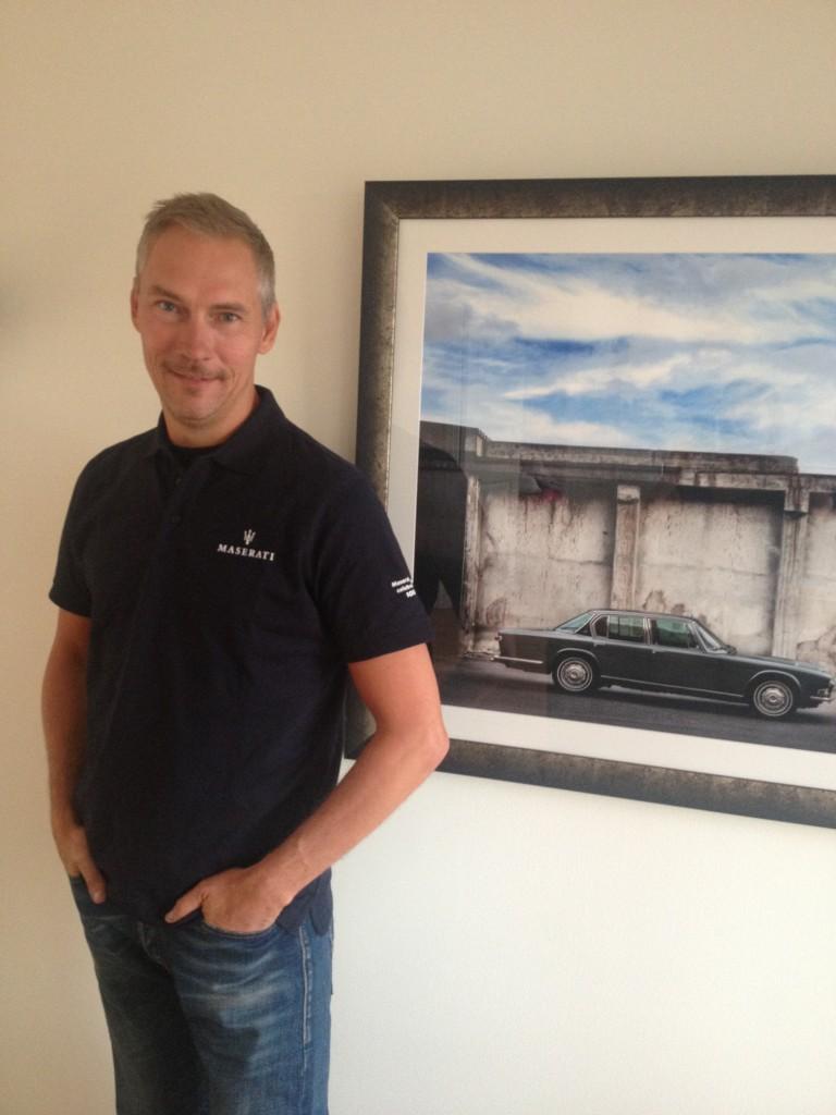 Maserati tröja