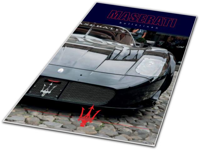 Redaktör sökes till Maserati Bulletinen!