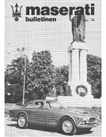 Maserati Club Sweden Bulletin 1979-1