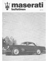 Maserati Club Sweden Bulletin 1979-2