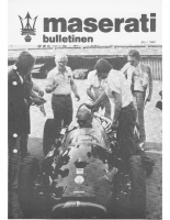 Maserati Club Sweden Bulletin 1980-1