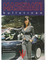 Maserati Club Sweden Bulletin 2003-2