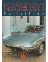 Maserati Club Sweden Bulletin 2003-3