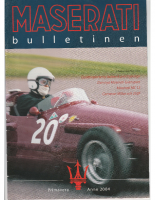 Maserati Club Sweden Bulletin 2004-1