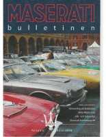 Maserati Club Sweden Bulletin 2004-2