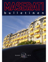 Maserati Club Sweden Bulletin 2013-2