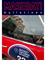 Maserati Club Sweden Bulletin 2014-2