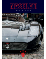 Maserati Club Sweden Bulletin 2015-1