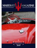 Maserati Magazine 2010-1