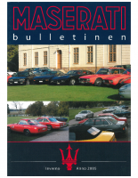 Maserati Club Sweden Bulletin 2005-2