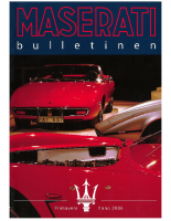 Maserati Club Sweden Bulletin 2006-1
