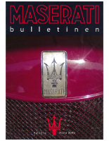 Maserati Club Sweden Bulletin 2008-2