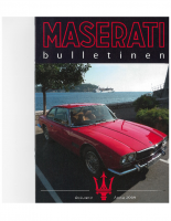 Maserati Club Sweden Bulletin 2009-2