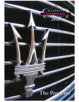 Maserati Club Sweden MIR 2010 Program